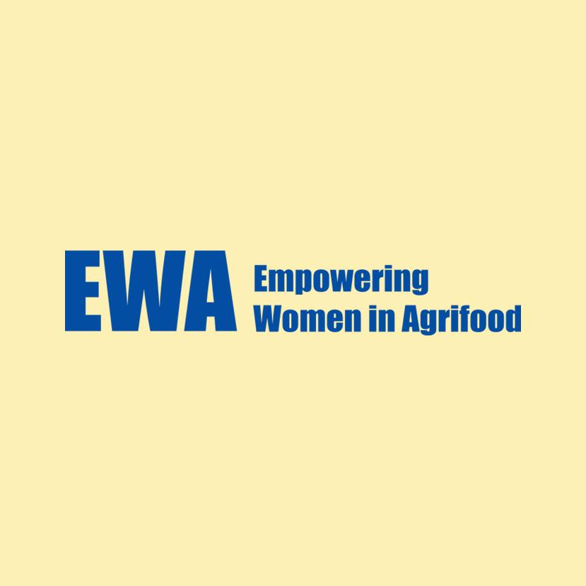 Logo EWA (Empowering Women in Agrifood) de EIT Food